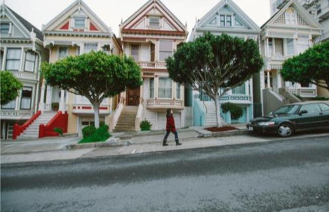 Painted Ladies Landmark in San Francisco